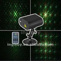 Mini laser light show projector