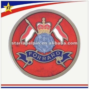 Promotional famous funny metal auto emblems car logo