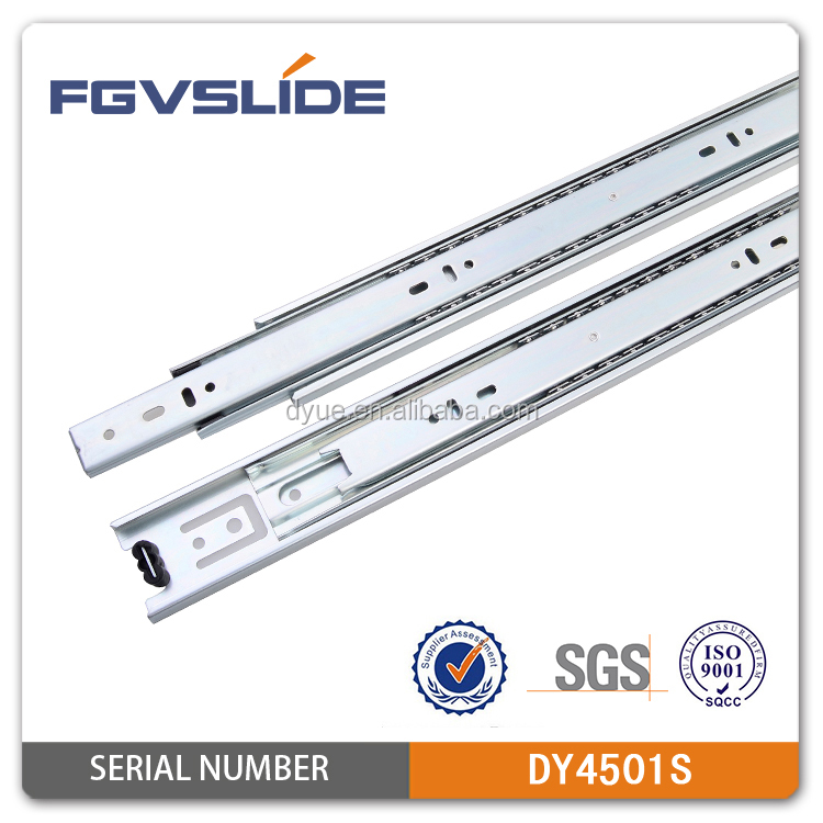 side mounting Type telescopic drawer guide rail