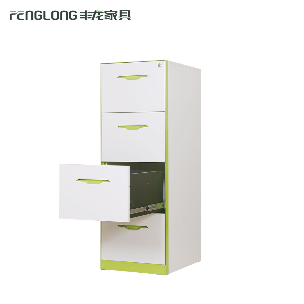 modern storage cabinet/metal file cabinet 4 drawer