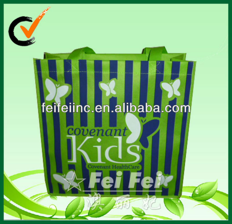 100% recycled pp nonwoven shopping bag