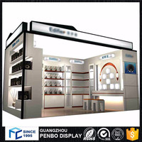 High standard mobile phone accessories kiosk in mall for cell phone accessories kiosk showcase