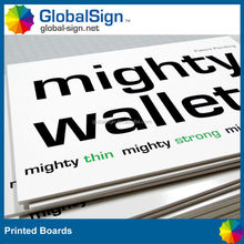 Lightweight printed board for your branded products sales