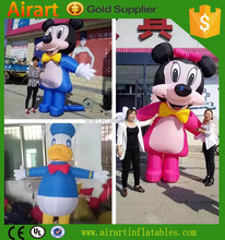 Hot sale advertising inflatable hero,screen character cartoon /inflatable replicas cartoon,costume/inflatable
