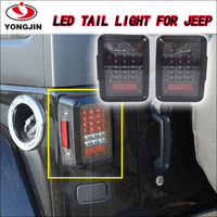 07-15 US for Jeep Wrangler JK LED Brake Tail Lights Signal Reverse Lamps for jeep rear light