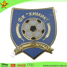 custom football cloisonne hard enamel plastic pin badges for flower