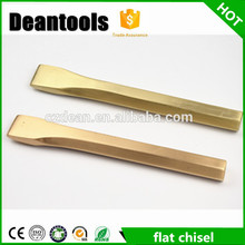 Non sparking flat chisel/160mm*16mm polishing finish handcraft tools