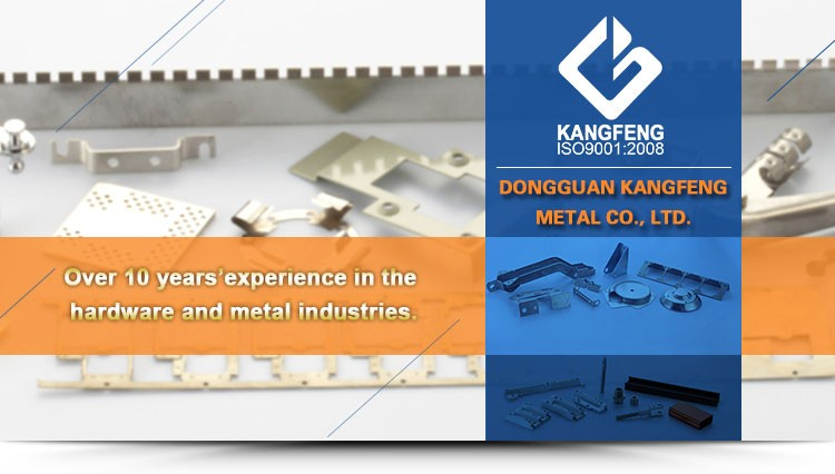 KF Metal terminal stamping for electric wires