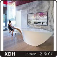 New Design Unique Information Desk Furniture Large Office Reception Desk