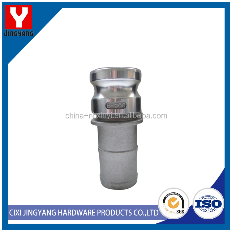 quick connect pipe fitting aluminum camlock coupling type a