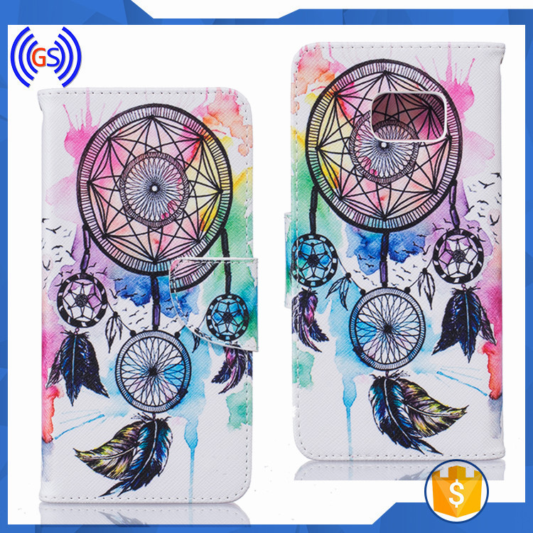 High Grade Mobile Phone Case For Samsung Galaxy Note 6/7,Flip Wallet Case For Samsung Galaxy Note 6/7