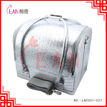 Hot Selling cosmetic makeup bag multifunction custom pu cosmetic bag case with belt