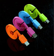 3.3ft(1m) Long USB data Cable 8pin to usb flat cable for iPhone 5 5c 5s 6 6s Plus