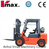 Supply Vmax 3 ton LPG/Gas engine power pullet forklift truck