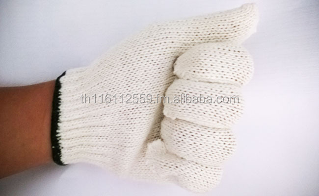 Cotton Working Glove 500G Made in Thailand