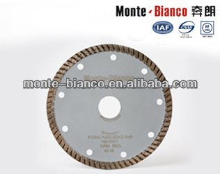Circular Diamond Saw Blade For General Use Cutting Monte-Biamond Brand Diamond Blades