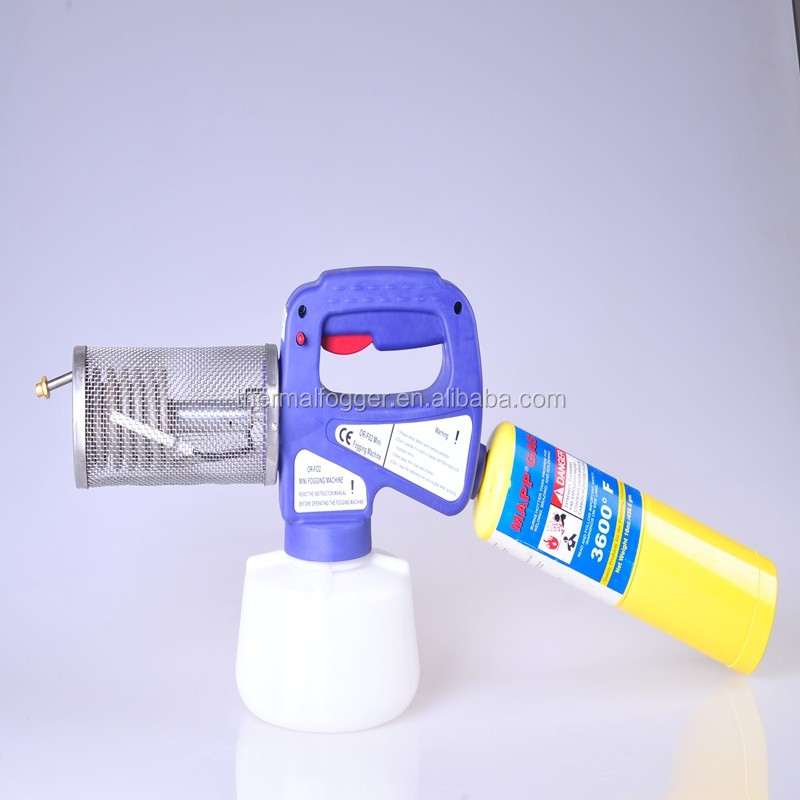 CE ISO super hot sale 1.3L propane smok mite treatment fogger of killer bee mite ,mosquitoes