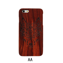 Genuine Handmade Luxury Wood Mobile Phone Case protective For iPhone 6 6s case