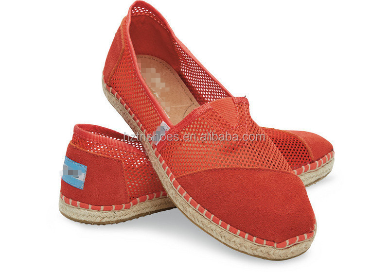 2016 Attractive Handmade Sole shoes factory espadrilles
