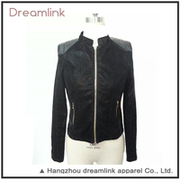 Custom latest designs casual leather jacket