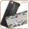 genuine python leather case with card holder cell phone python case for Iphone 6 5s 5