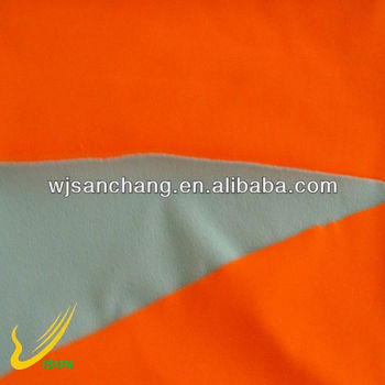 pass EN471 fluorescent orange softshell fabric