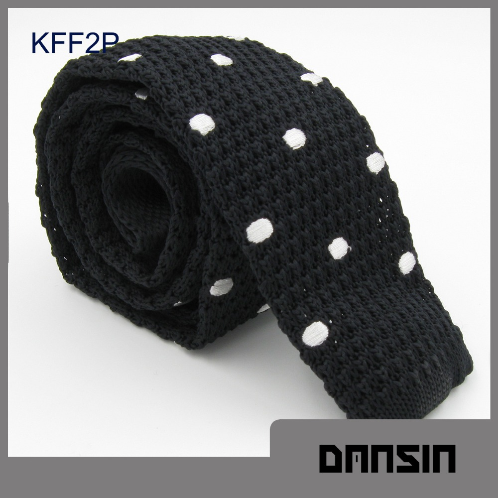 New Arrival High Quality Polyester Mens Knit Tie