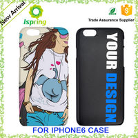 For iphone custom uv color printing mobile phone case