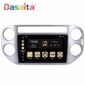 DASAITA 9 inch Android 8.0 Ocat Core car DVD player GPS Navigation system with stereo multimedia for Tiguan