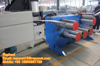 AUTOMATIC PP LINE DANLINE EXTRUDING EXTRUDER MAKING MACHINE: ropenet15@ropenet.com