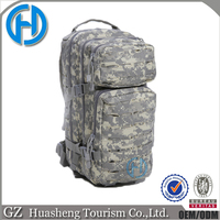 newest design laser cut ACU camo armed ammo outdoor hiking backpacks