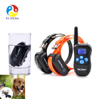 2018 potential best seller Remote vibrating dog training collar friendly Shock no pain training collar with 300 meter range