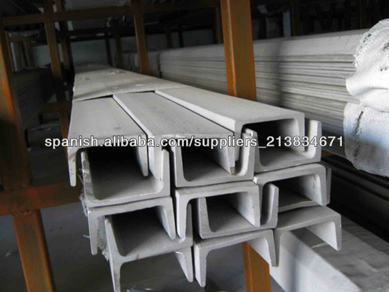 Q235/Q345 /S400 hot rolled steel channel U / C section shaped steel channels
