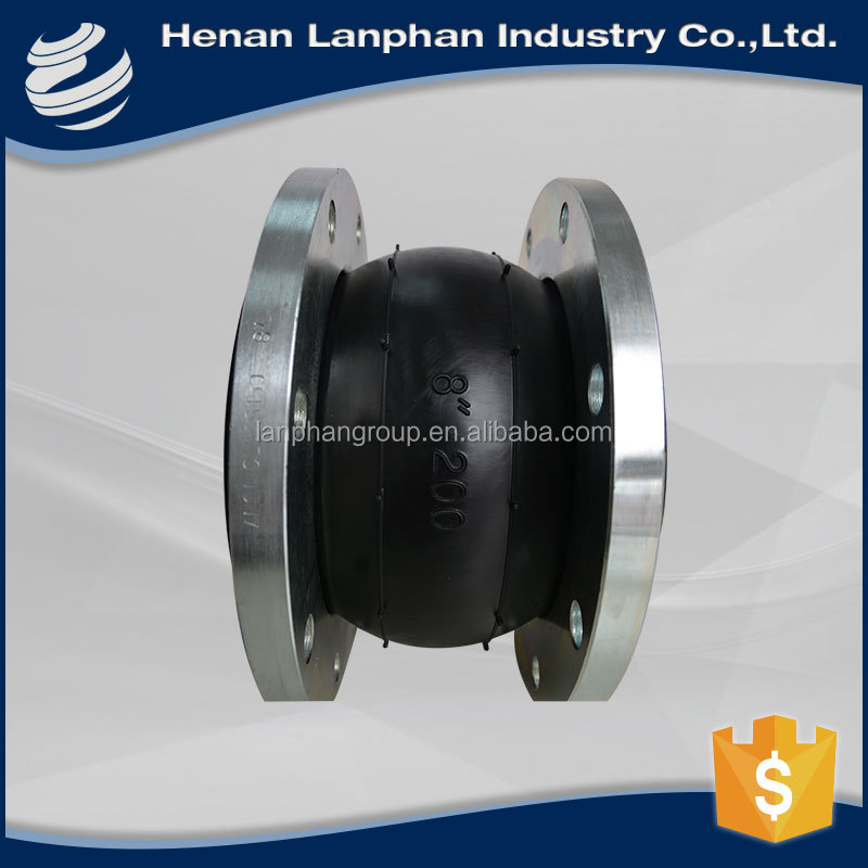 good single ball hydraulic rubber expansion joint