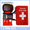 CE ISO FDA Approved KF346 Small Size Red Nylon red cross pocket first aid bag comprehensive first aid kit emergency kit