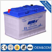 12V75AH DIN-57217 Automotive Car Battery