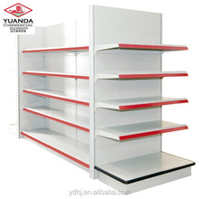 2018 New used supermarket <strong>shelf</strong>/ double side metal <strong>shelf</strong>