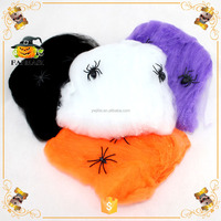 Halloween Decoration Spider Web With Spiders Stretchy Cobweb 20g