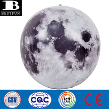 durable plastic inflatable 3D moon ball inflatable beach moon ball funny inflatable moon ball toys for kids
