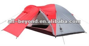 Carpa with a vestibule outdoor family 4 persons camping tent