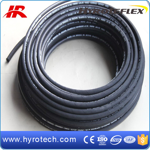 Hydraulic flexible hose DIN EN853 2SN / SAE 100R2AT good price