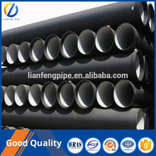 Black metal ductile iron pipe dimensions dn80-1800mm