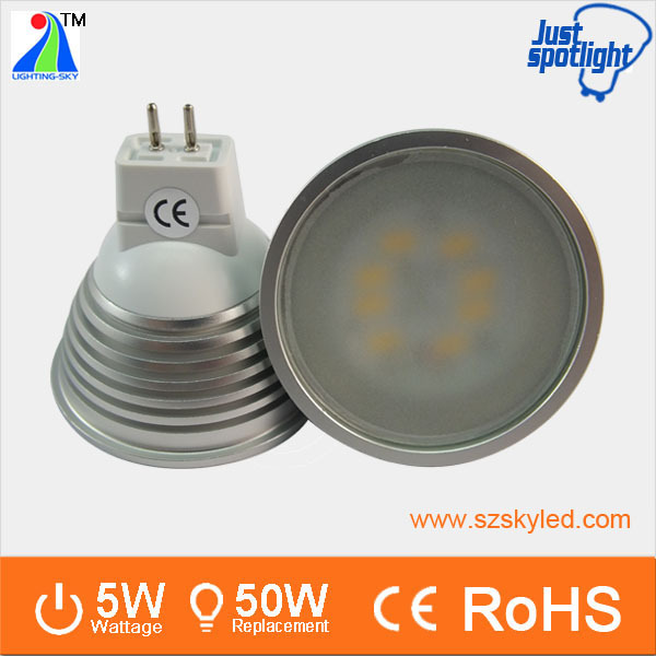 Best selling aluminum SMD5730 dimmable led mr16 electronic transformer
