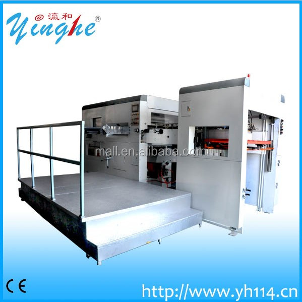 flat-flat creasing and die-cutting machine high speed
