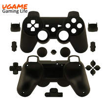 New Wireless Controller Full Housing Shell Case for Sony PS3 Matte Black