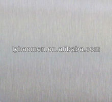 304 material hairline stainless steel