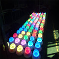 Different colours lampwick of led furniture