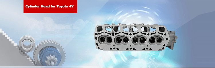 4Y Cylinder Head 11101-73020 for Toyota 2337cc/2.3L Engine