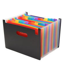 desinger stand plastic decorative expanding file folders