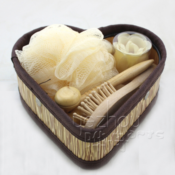 Bamboo Boxed Bath Gift Set bath body works wholesale